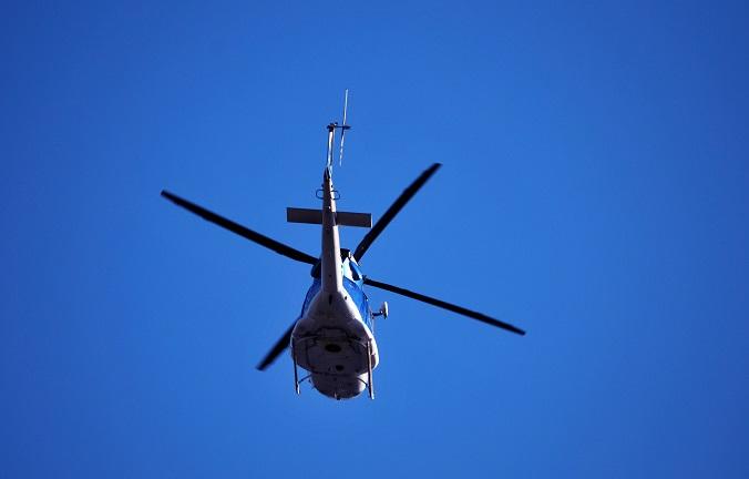 Hubschrauberflüge sind hoch im Kurs unter den Deutschen